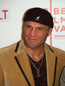 Captain America Is The Natural, Randy Couture