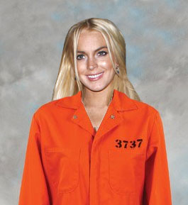 LINDSEY LOHAN BACK BEHIND BARS…AGAIN